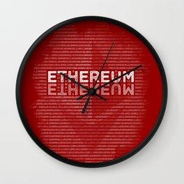Ethereum Binary Wall Clock