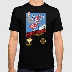 Adventurebike Black SMALL Mens Fitted Tee