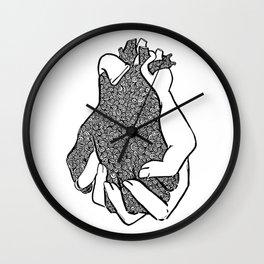Entangled- Black Wall Clock