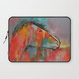 Red Horse Laptop Sleeve
