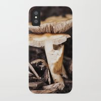 mushroom iPhone & iPod Cases featuring Mushroom by Alane Gianetti