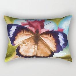 Beautiful Monarch Butterfly Rectangular Pillow