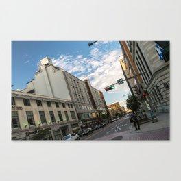 Charest blv - Old Quebec Canvas Print