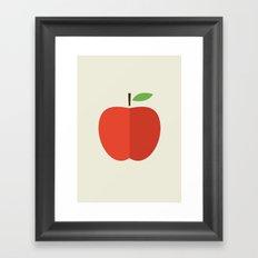 Apple 17 Framed Art Print