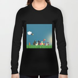 What's going on the farm? Kids collection Long Sleeve T-shirt