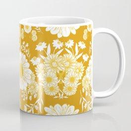 Daisy Delight Pumpkin Coffee Mug