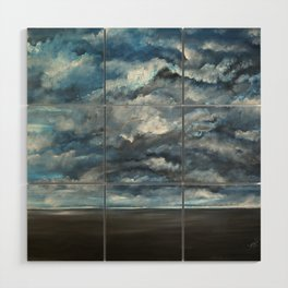 The Sun is Coming (Lista) by Gerlinde Wood Wall Art