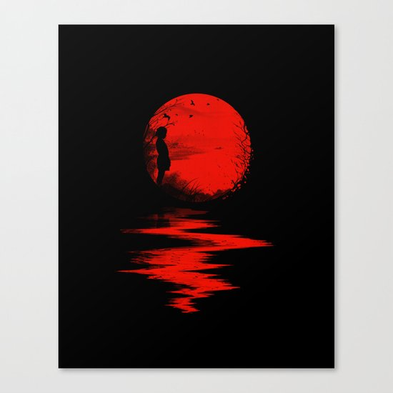 The Land of the Rising Sun Canvas Print