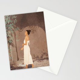 Summer Morning at Home Stationery Cards
