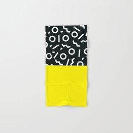 Memphis pattern 51 Hand & Bath Towel