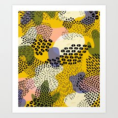 Piña Colada Art Print