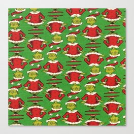 the grinch wallpaper Canvas Print