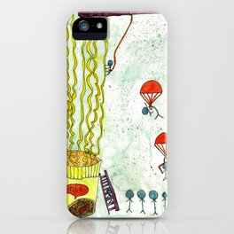 The Mission of Instant Noodles iPhone Case