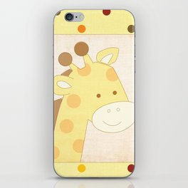 Giraffe Jungle Series Print iPhone Skin