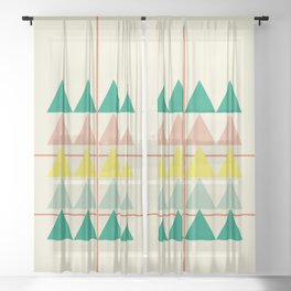 disguise forest || early summer Sheer Curtain