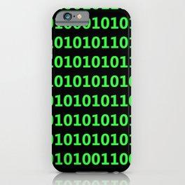 Machine language iPhone Case