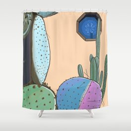 Cactus Lover Shower Curtain