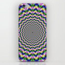 Crinkle Cut Psychedelic Pulse Alternative Color iPhone Skin