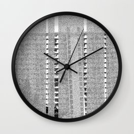 listening to the radio Wall Clock