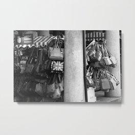 Bag Stall, Covent Garden Market, London Metal Print