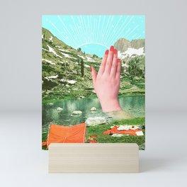 A strange dream Mini Art Print