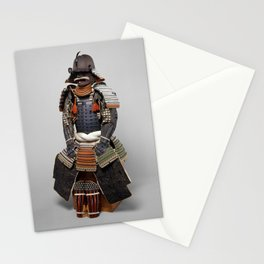 Historical Samurai Armor Photograph (18th Century) Stationery Cards