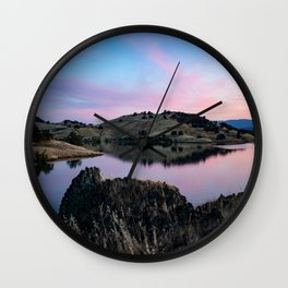 Black Butte Lake - Northern California Wall Clock