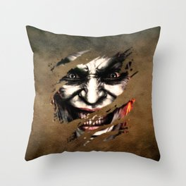 Clown 03 Throw Pillow