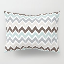 Seaside Chevron Pillow Sham