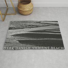 DARK DANISH AMBIENT BEACH Rug
