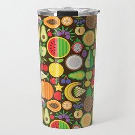 Fruit Patten Travel Mug