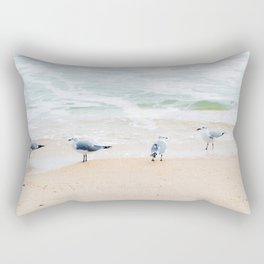 Beach Birds Rectangular Pillow