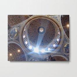 La grande cupola di San Pietro Metal Print