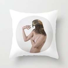 Therianthrope - Eagle Throw Pillow