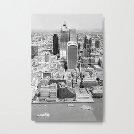 London View Metal Print