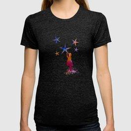 Stars art T-shirt