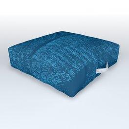 Wood Waves Outdoor Floor Cushion