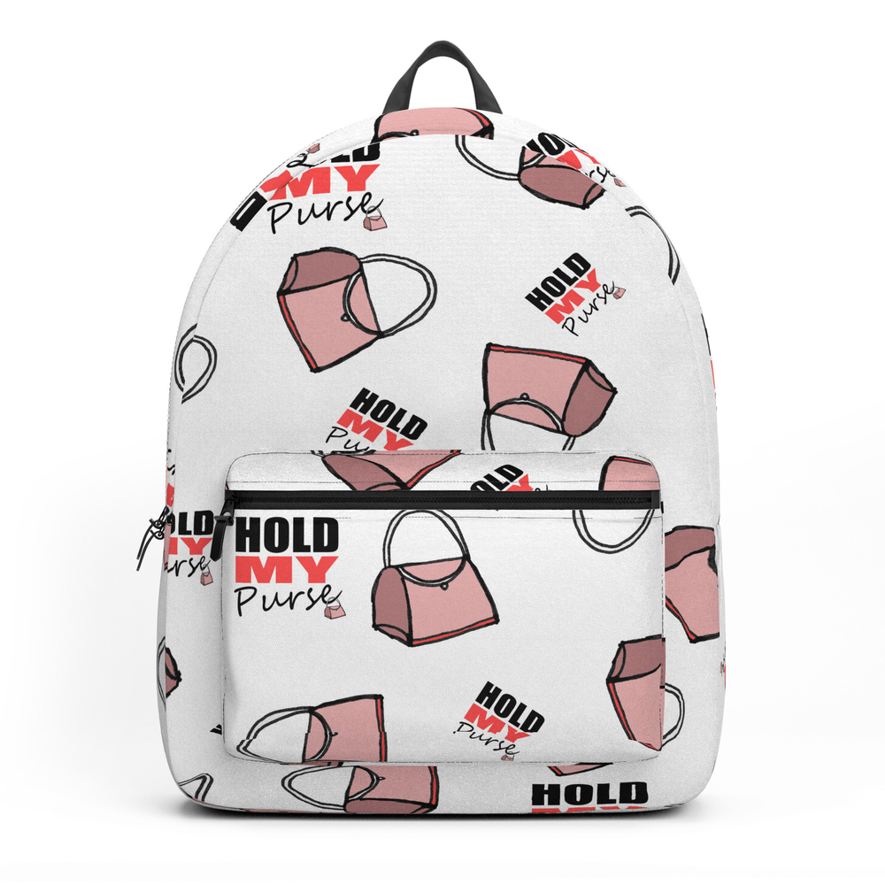 Hold My Purse Backpack by shauniamckenzie (BKP11848387) photo