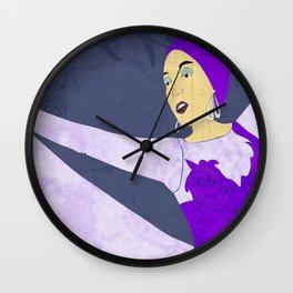 Showgirl 2 Wall Clock