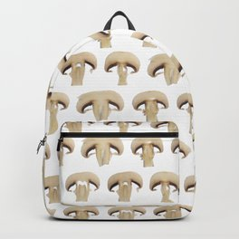 Many champignon slices pattern Backpack