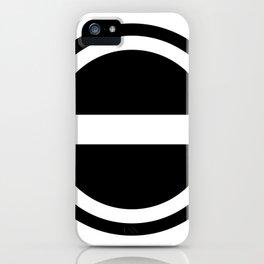 Curtis Holt Logo (Black) iPhone Case