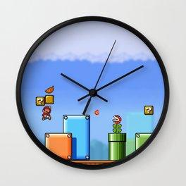 World 1-1 Wall Clock
