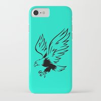 eagle iPhone & iPod Cases featuring Eagle  by ArtSchool