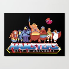 Hamsters Of The Universe Canvas Print