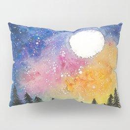 Boral Aurora Night Sky / Aurora Boreal Cielo Nocturno Pillow Sham