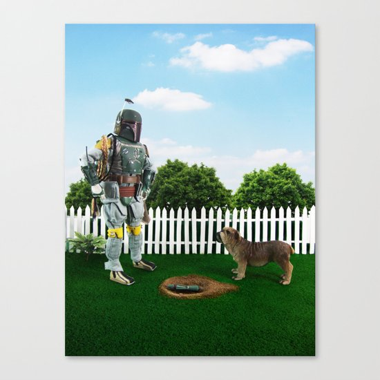 So, there it is! Canvas Print