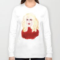 mom Long Sleeve T-shirts featuring MOM by SMOKESINATRA