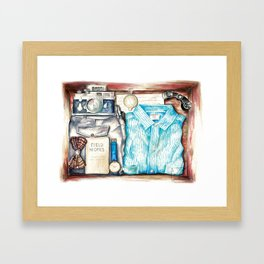 Gentleman's Adventure Kit Framed Art Print