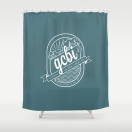 The Great Commission Bible Institute Lake Denton Shower Curtain