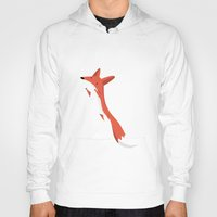 mr fox Hoodies featuring Mr. Fox by justdan